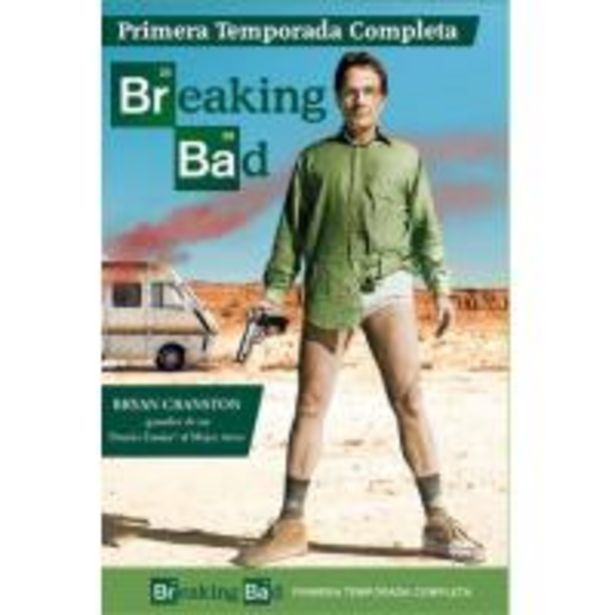 Oferta de Breaking Bad  Temporada 1 - DVD por 10€