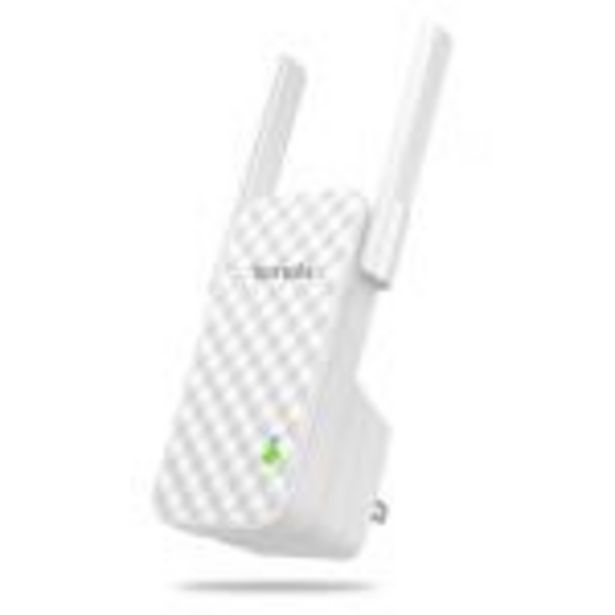 Oferta de Repetidor Wifi Tenda a9 - 300mbps - 2x 3dbi Antenas - Compatible con Cualquier Router 802.11b/g/n - por 20,99€
