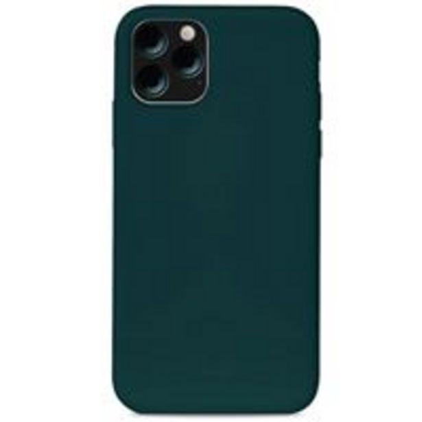 Oferta de Funda de silicona Puro Icon Verde oscuro para iPhone 11 por 12,99€