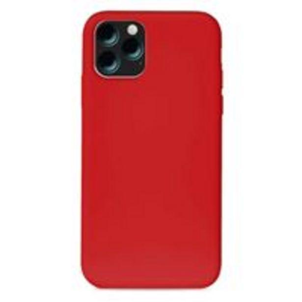 Oferta de Funda de silicona Puro Rojo para iPhone 11 por 12,99€
