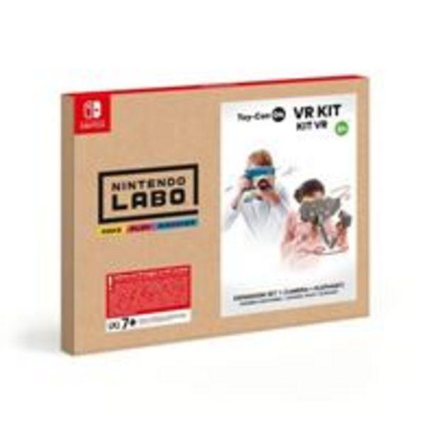 Oferta de Labo: Kit de VR – Set de expansión 1 - Nintendo Switch por 6,6€