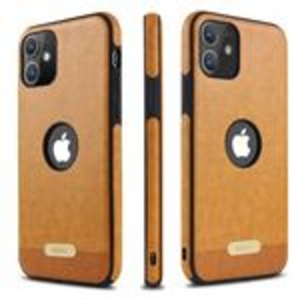 Oferta de Funda de cuero de PU anti-choque para Apple iPhone 11 Pro (5.8) Marron por 16,5€