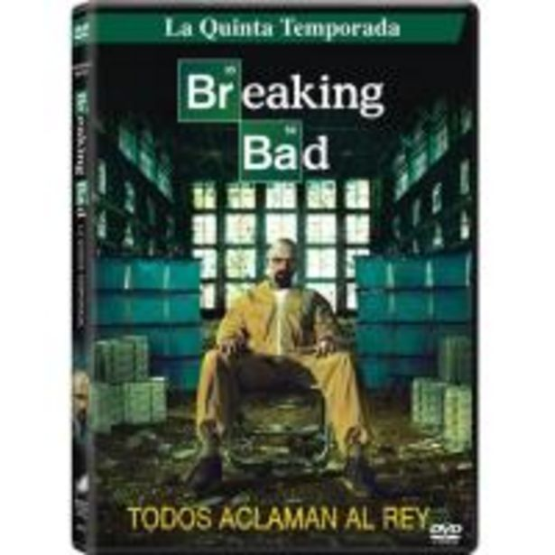 Oferta de Breaking Bad  Temporada 5 - Parte 1 - DVD por 10€