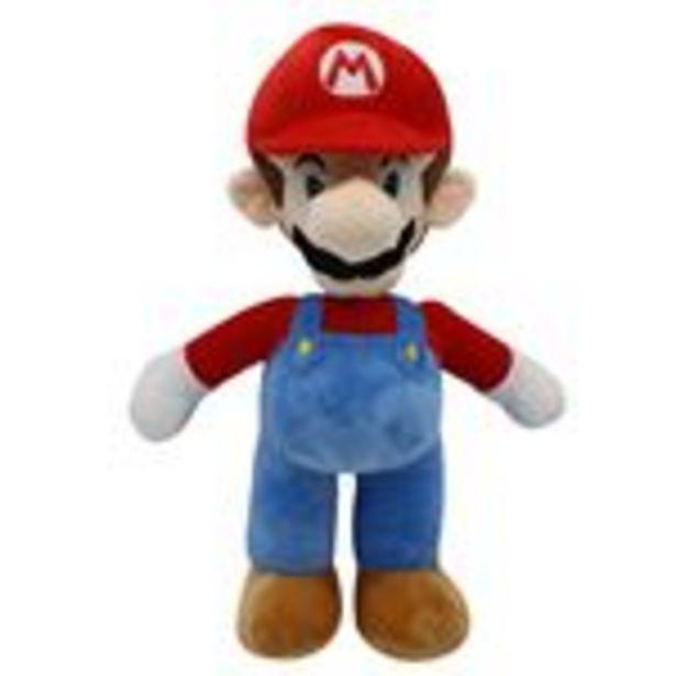 Oferta de Peluche Super Mario, Mario M Rouge 25cm por 16,99€
