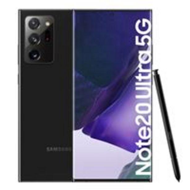 Oferta de Samsung Galaxy Note 20 Ultra 5G 6,9'' 256GB Negro por 1168€