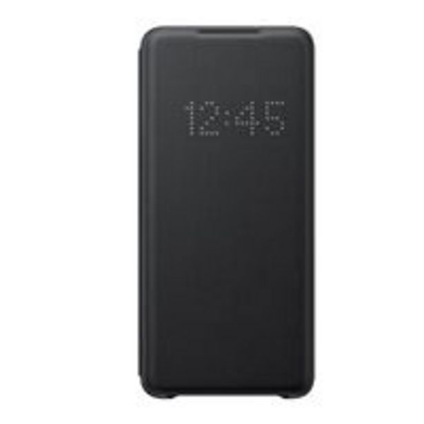 Oferta de Funda Samsung LED View Cover Negro para Galaxy S20+ por 48,74€