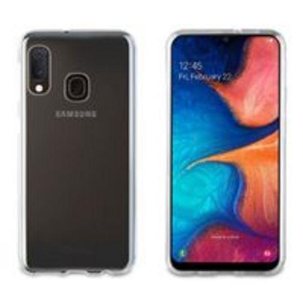 Oferta de Funda Muvit Cristal Soft Transparente para Samsung Galaxy A20e por 5,99€