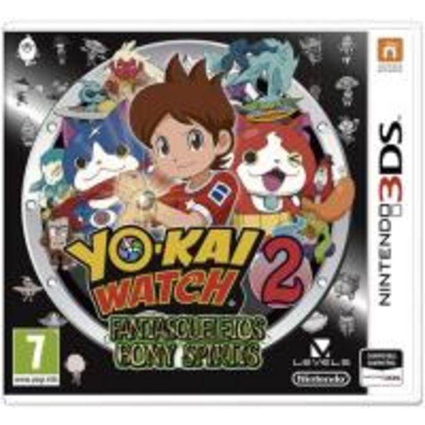 Oferta de Yo-Kai Watch 2: Fantaesqueletos Nintendo 3DS por 25,89€