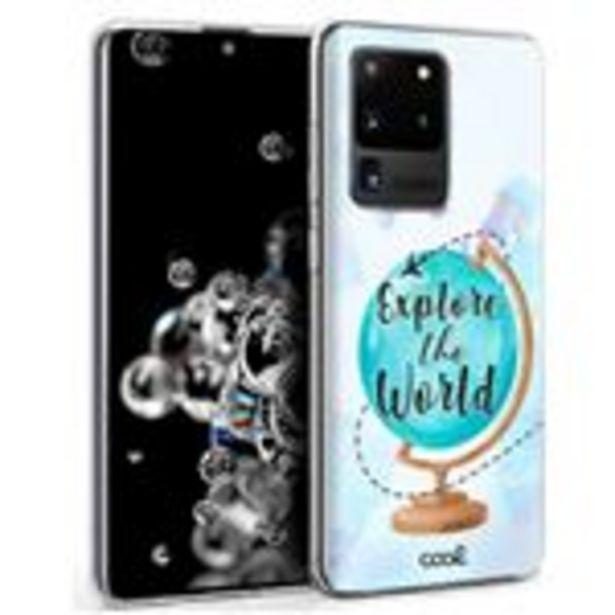 Oferta de Carcasa para Samsung G988 Galaxy S20 Ultra 5G Dibujos Explore por 9,9€