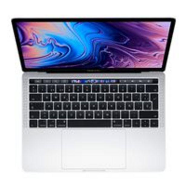 "Oferta de Apple  MacBook Pro 13"" i5 2,4GHz 512GB Touch Bar Plata por 1749€"