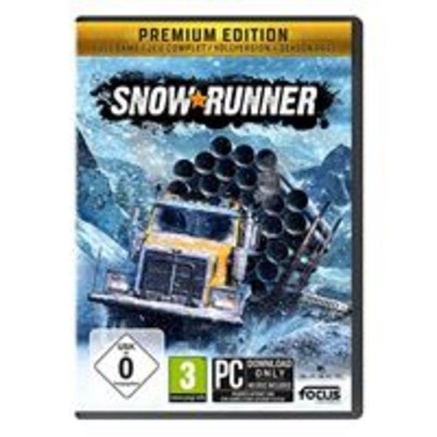 Oferta de Snowrunner Premium PC por 55,24€