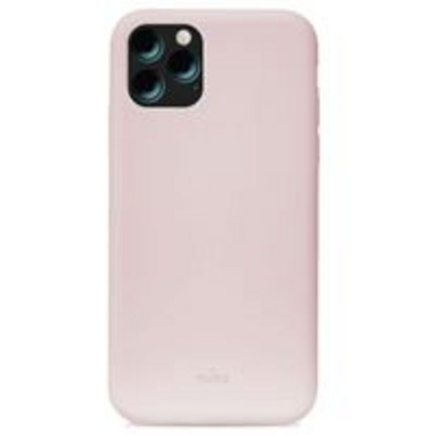 Oferta de Funda de silicona Puro Rosa para iPhone 11 por 12,99€