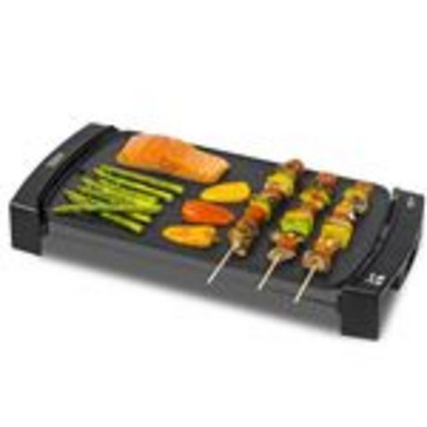 Oferta de Plancha de asar eléctrica Cecotec Black&Water 2500 negro por 29,9€