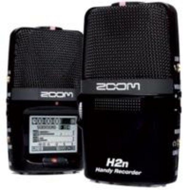 Oferta de Zoom: Grabadora digital H2N por 248,99€