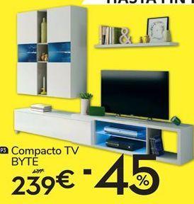 Oferta de Compacto tv Byte por 239€
