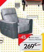 Oferta de Sillón relax electrico MOON por 269€