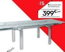 Oferta de Mesa extensible METRÓPOLIS por 399€