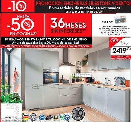 Oferta de Cocinas TANGO por 2419€