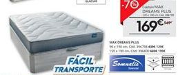 Oferta de Colchon MAX DREAMS PLUS  por 169€