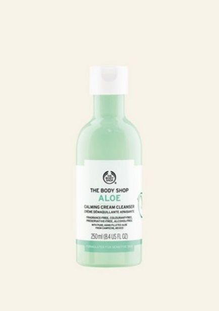 Oferta de Limpiador Calmante Cremoso De Aloe 250 ml por 13€