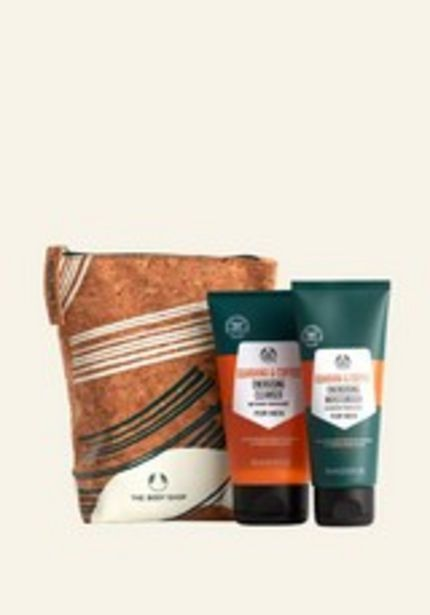 Oferta de Kit de Cuidado Facial Revitalizante para Hombre por 29€