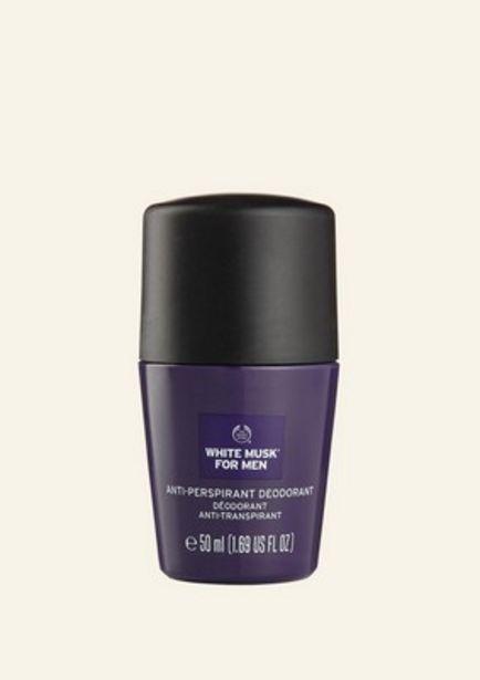 Oferta de Desodorante Antitranspirante White Musk® Para  Él 50 ml por 5,5€