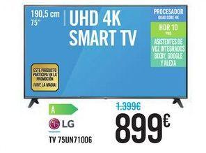 Oferta de LG TV 75UN71006 por 899€