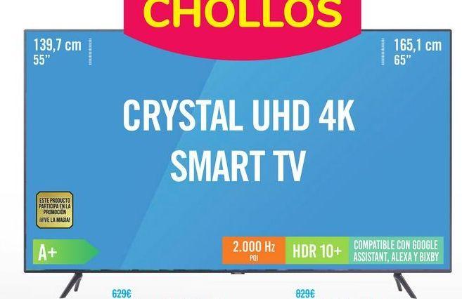 Oferta de Samsung TV 65TU7125 por 599鈧�