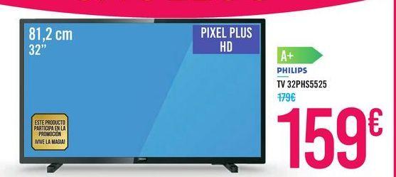 Oferta de TV 32PHS5525 PHILIPS por 159€