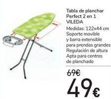 Oferta de Tabla de planchar Perfect 2 en 1 VILEDA  por 49€