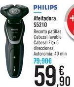 Oferta de Afeitadora S5210 PHILIPS por 59,9€