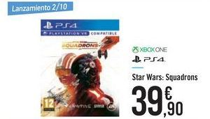 Oferta de Star Wars: Squadrons XBOX ONE PS4 por 39,9€