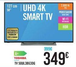 Oferta de TV 50UL3B63DG TOSHIBA por 349€