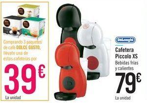 Oferta de Cafetera Piccolo XS DeLonghi por