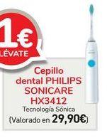Oferta de Cepillo dental PHILIPS SONICARE HX3412  por 29,9€