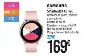 Oferta de Smartwatch ACTIVE SAMSUNG por 169€