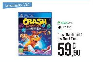 Oferta de Crash Bandicoot 4 It's About Time XBOX ONE PS4 por 59,9€