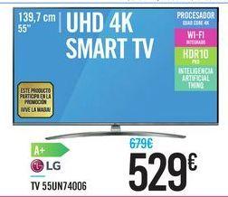 Oferta de TV 55UN74006 LG por 529€