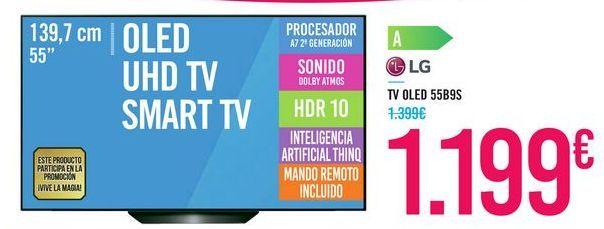 Oferta de TV OLED 55B9S LG por 1199€