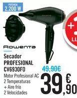 Oferta de Secador PROFESIONAL CV6930F0 por 39,9€