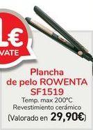 Oferta de Plancha de pelo ROWENTA SF1519  por 29,9€