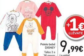 Oferta de Pelele bebé DISNEY  por 9,99€
