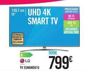 Oferta de TV 55NAN0816 LG por 799€