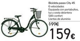 Oferta de Bicicleta Paseo City 45  por 159€