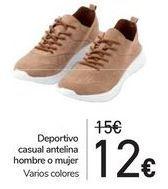Oferta de Deportivo casual antelina hombre o mujer  por 12€