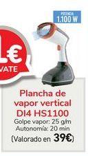 Oferta de Plancha de vapor vertical D14 HS1100  por 39€