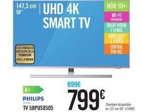 Oferta de TV 58PUS8505 PHILIPS por 799€