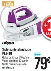Oferta de Sistema de planchado PL2410 Ufesa  por 79€