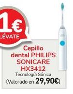 Oferta de Cepillo dental PHILIPS SONICARE HX3412  por 29,9€