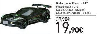 Oferta de Radio control Corvette  por 19,9€